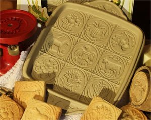 BROWN BAG AMERICAN BUTTER SHORTBREAD COOKIE PAN