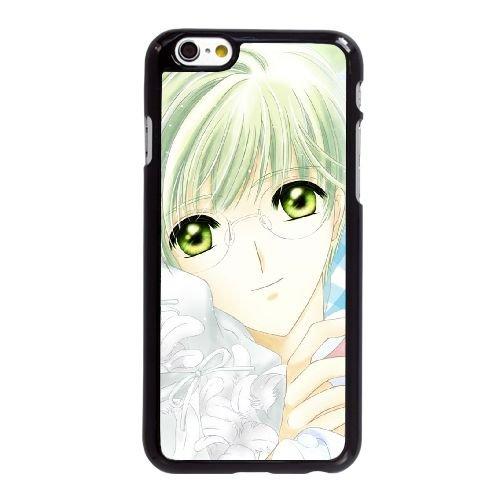 I0S26 cardcaptor sakura manga V3B2DP coque iPhone 6 Plus de 5,5 pouces cas de couverture de téléphone portable coque noire XB1TPJ6NC