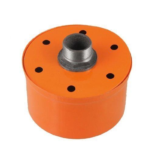 Water & Wood Orange Metal Inlet Filter Silencer 1'' PT Thread for Air Compressor