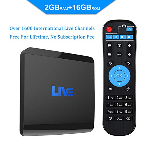 MACOBOX IPTV 2GB RAM 16GB ROM Global Receiver 1600+ International Channels from US India Portugal Korea Arabic (Best News Channel In India In Hindi)