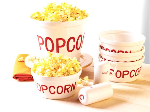 Everybody Loves 7-Piece Popcorn Set, Enjoy (JY) by Everybody Loves
