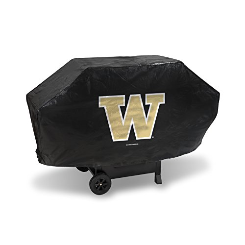 Rico Ncaa Washington Huskies Vinyl Padded Deluxe Grill Cover