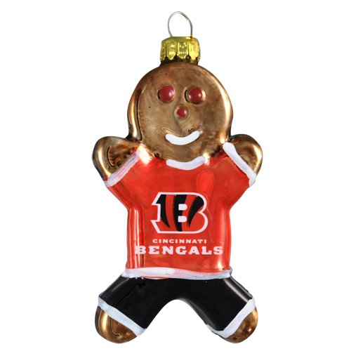 NFL Cincinnati Gingerbread Ornament