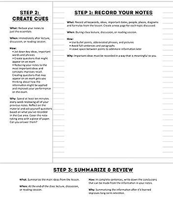 0c9839fbc48c Cornell Notes Notebooks: Retro Vintage Chevrons Notes Paper: The ...