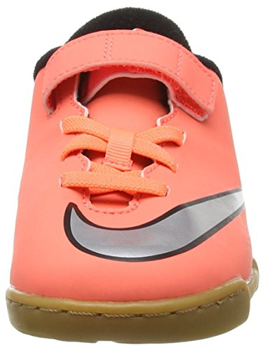 de Enfant Chaussures Mixte Mango Turquoise Nike Orange II Silver Bright Mercurial Football Hyper Vortex V Metallic IC XpFXqYnzUw