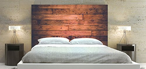 Wood Headboard Panel for Bed, Square Shape Frame, Available in Sizes (Double: 54 x 36 inch)