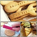 Putee® 72 Pcs Alphabet, Number, Letter Biscuit Fondant Cake/cookie Stamp Impress Embosser Cutter - Mold Set