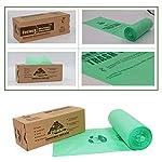 Cycluck-120-Bolsas-6L-Bolsa-de-Basura-ecologica-100-Biodegradable-y-Compostable-con-EN-13432-Hecho-de-Almidon-de-Maiz-6L