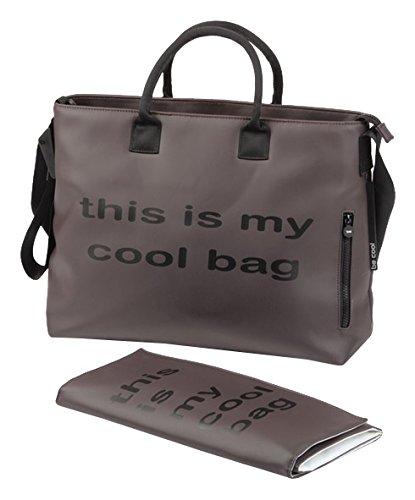 /Sac /à langer rouge Be Cool Mamma Bag/