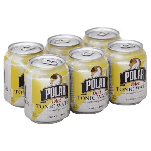 Polar Diet Tonic 8 oz Cans - 3 Packs of 8