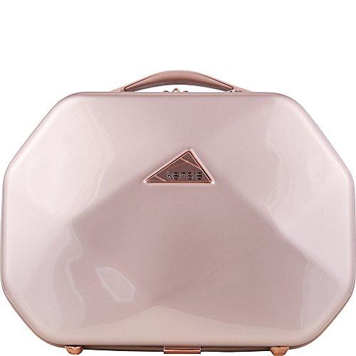 """Kensie Luggage Gemstone 13"""" Beauty Case (Rose Gold)"""
