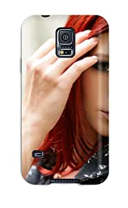 New HzqrSUz7644WaacX Women Redheads Tpu Cover Case For Galaxy S5