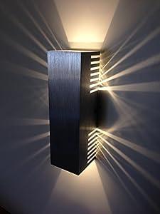 spiceled wandleuchte shineled 6 2x3w warmwei wandlampe leuchte led effekt sehr sch nes. Black Bedroom Furniture Sets. Home Design Ideas