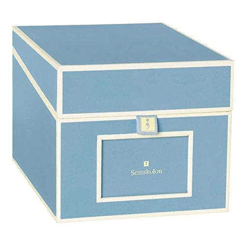 Semikolon CD/DVD/Photo Storage Box, Ciel Sky Blue (31809) -