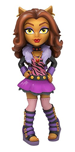 FunKo 11999 Actionfigur Rock Candy Monster High Clawdeen
