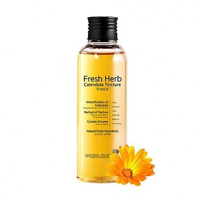 Natural Pacific Fresh Herb Calendula Tincture Toner, 6.8 Ounce