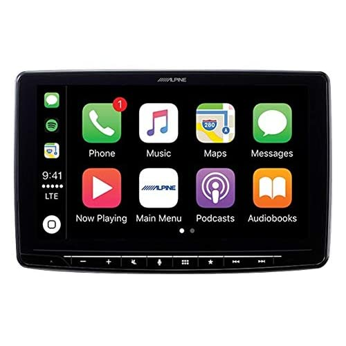 Image of Alpine iLX-F309TCM HALO9 9' Receiver for Toyota Tacoma 2016 and up - Compatible with Apple CarPlay and Android Auto (No-CD) Car Stereo Receivers