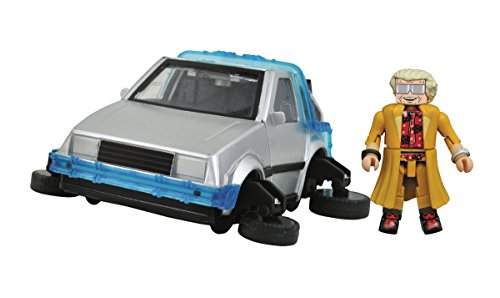 Diamond Select Toys Back to The Future: 30th Anniversary Minimates Hover Time Machine Mini-Vehicle