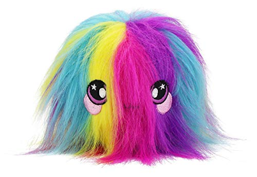 Squeezamals Series 2 - 3.5 Super-Squishy Slow Rise Scented Foam Stuffed Animal! Squeezable, Cute, Soft, Adorable! (Fluffy Fur Ball)