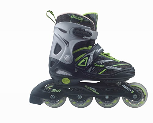 Chicago Blazer Junior Boys Adjustable Inline Roller Skate (Size 5-8) (Boys In Line Skates)
