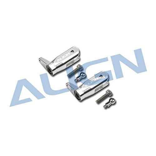 (Align 250PRO Metal Main Rotor Holder Set (Silver))