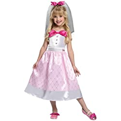 Barbie Bride Costume, Small