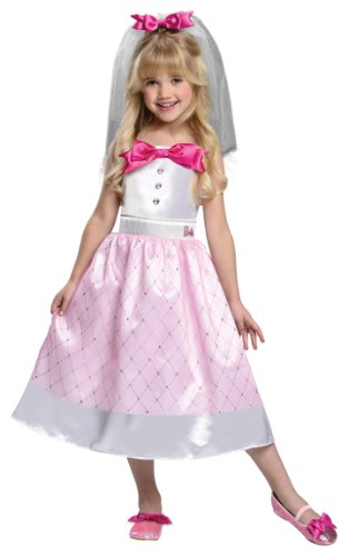 Barbie Bride Costume, Small (Barbie Costumes For Kids)