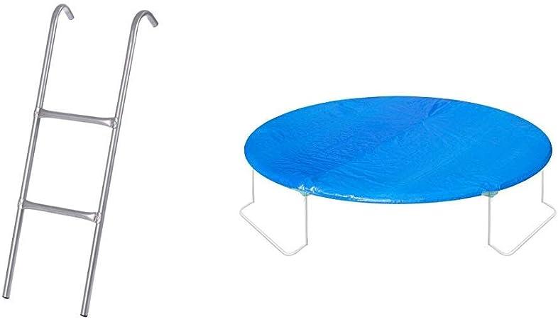 Leiter Trampolin Einstieg Gartentrampolin Trampolinleiter Trampolinzubehör Stahl