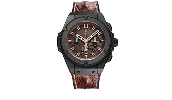 79de0ee5010 Amazon.com  Hublot Big Bang King Power Arturo Fuente Men s Chronograph  Watch - 703.CI.3113.HR.OPX12  Watches