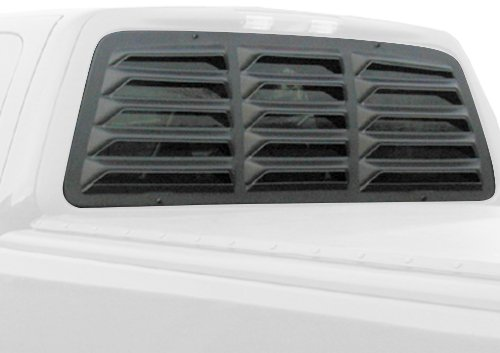 Willpak Industries 8009 ABS Classic Style Design Truck Rear Window Louver for Ford (Truck Window Louvers)