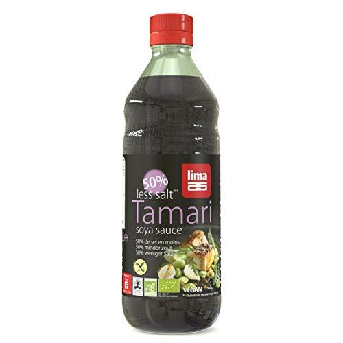 Lima Tamari 50% Minder Zout Bio, 500 ml, 1 Units