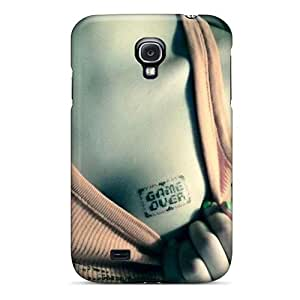 Awesome HKc2078gvfX Wade-cases Defender Tpu Hard Case Cover For Galaxy S4- Game Over Hd