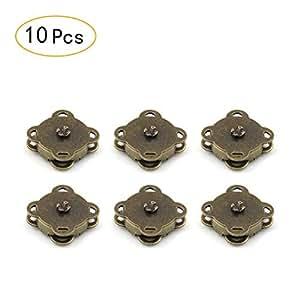 10 peke?o juegos de coser en bolsa magnética broches 18 mm-reat para costura, manualidades, ropa, bolso, Scrapbooking, y más