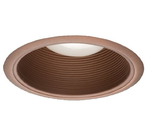 NICOR Lighting 6-Inch Recessed Baffle Trim, Oil-Rubbed Bronze (17511OB-OB)