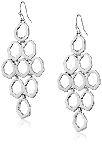 t-tahari-silver-abstract-line-drop-earrings