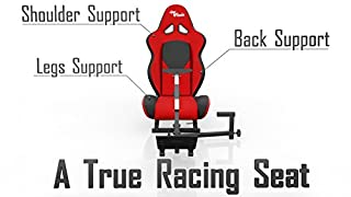 Openwheeler Advanced Racing Seat Driving Simulator Gaming Chair with Gear Shifter Mount [Playstation4] (B004FCI5V0) | Amazon price tracker / tracking, Amazon price history charts, Amazon price watches, Amazon price drop alerts