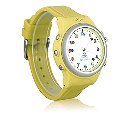 Top Watch Kids Smartwatch Wristwatch GPS LBS Double Location Safe Children Watch Activity Tracker SOS Call SIM Card for Android and IOS