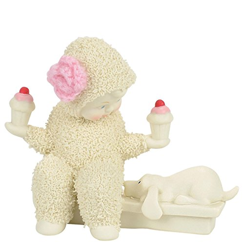 Department 56 Snowbabies Balanced Diet Porcelain Figurine, 3.3