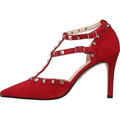 para Mujer Rojo Modelo Mujer Rojo Color Vestir Vestir para Rally Sandalias LODI LODI de De Sandalias Marca Rojo 7wtUq1xU