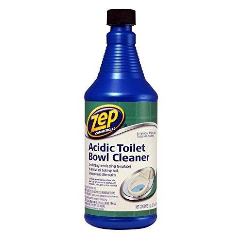ZEP Acidic Toilet Bowl Cleaner, 32 Ounce (2)