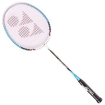 ca8ff47599b Yonex Nanoray D1 Badminton Racquet White Blue  Amazon.co.uk  Sports    Outdoors