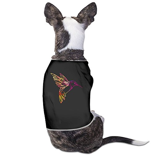 [American Egret Black Pet Dog Shirt] (Harlot Costume)