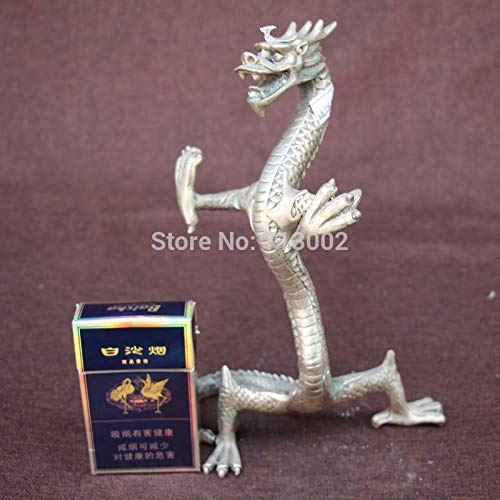 ZAMTAC Vintage Tibetan Silver Dragon Stand for Necklace Bangle Ring Bracelet Earrings Jewelry Hang