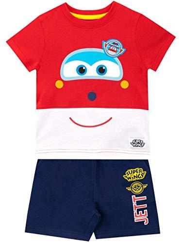 Jett Set - Super Wings Boys Jett T-Shirt and Shorts Set Multicolored Size 18M