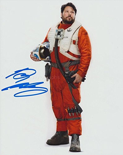 GREG GRUNBERG as Snap Wexley – Star Wars: The Force Awakens GENUINE AUTOGRAPH