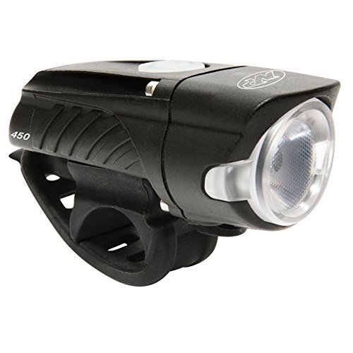 NiteRider Swift 450 Lumens USB Rechargeable Road Commuter LED Bike Light Water Resistant Compact Lightweight Bicycle Headlight, LED Front Light Easy to Install Men Women Kids Cycling - Nite Rider Male