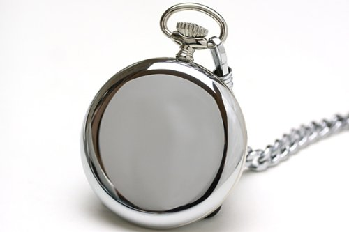 Zeno Pocket Watch Swiss Made White Dial 100-i2-num by Zeno (Image #1)