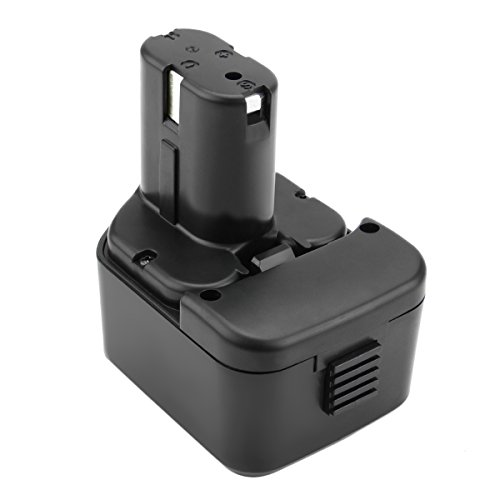 Exmate 12V 3.5Ah Ni-MH Battery Compatible with Hitachi EB121