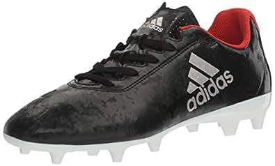 Adidas Originals Women's X 17.4 FG W Soccer Shoe, Black/Platino Core Red S, 5 M US