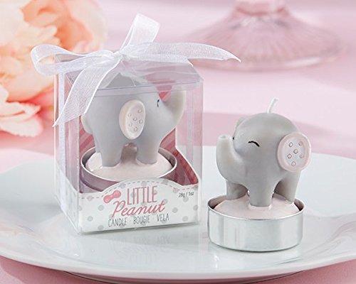 Little Peanut Elephant-Shaped Candle (Set of 4)
